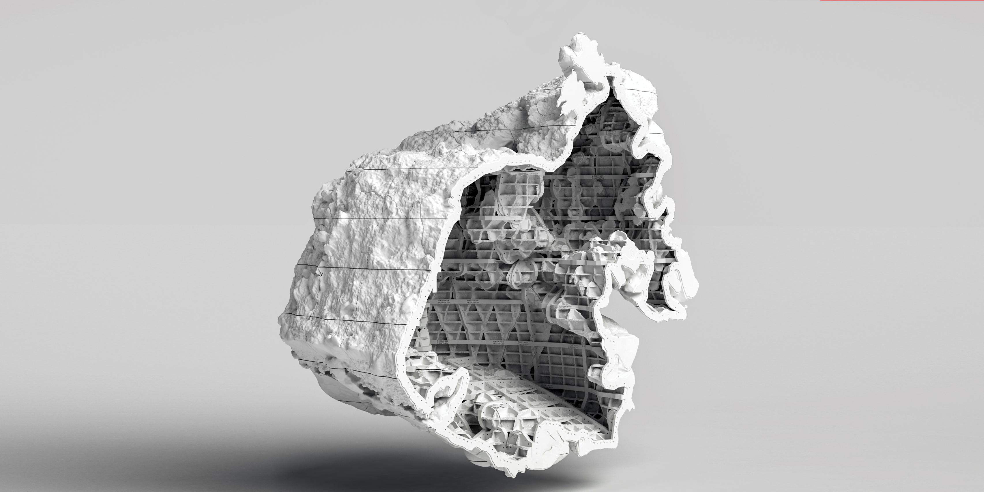 3D Printed Freeform Molds