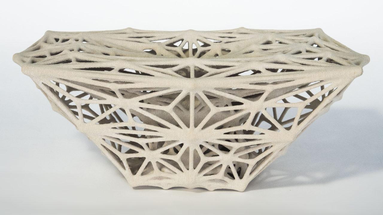 multi-hierarchical 3D printed tubular lattice structure (Frank Lin, Jun Su)